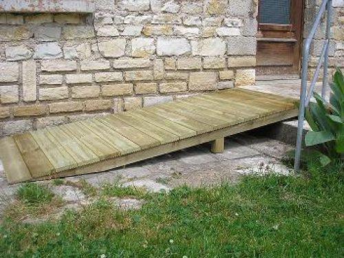 R alisation 3 acces seniorsacces seniors for Fabriquer une marche en bois