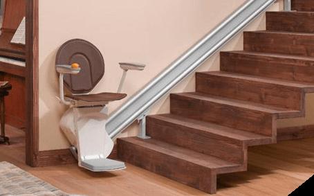 monte escalier - anti chute - accès séniors - domicile